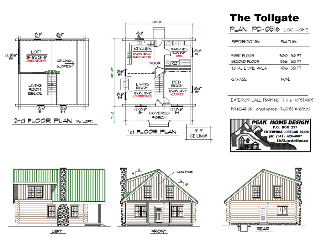 Oregon House Design The Tollgate #PD0516