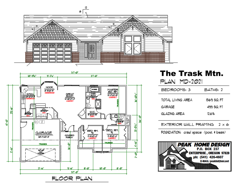 THE TRASK MT HOME DESIGN MD2021